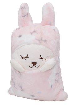 Paturica, Puffy, roz, 90x140 cm