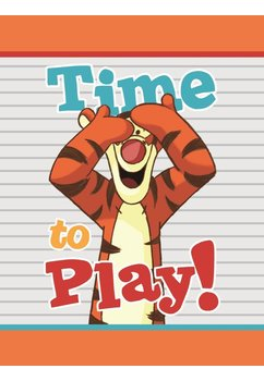Paturica, Time to play, Tiger, 75x100cm