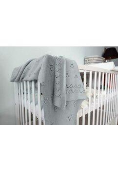Paturica tricotata, Ana, gri, 90x90cm