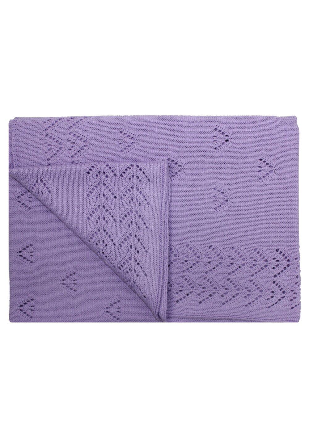 Paturica tricotata, Ana, mov, 90x90cm imagine