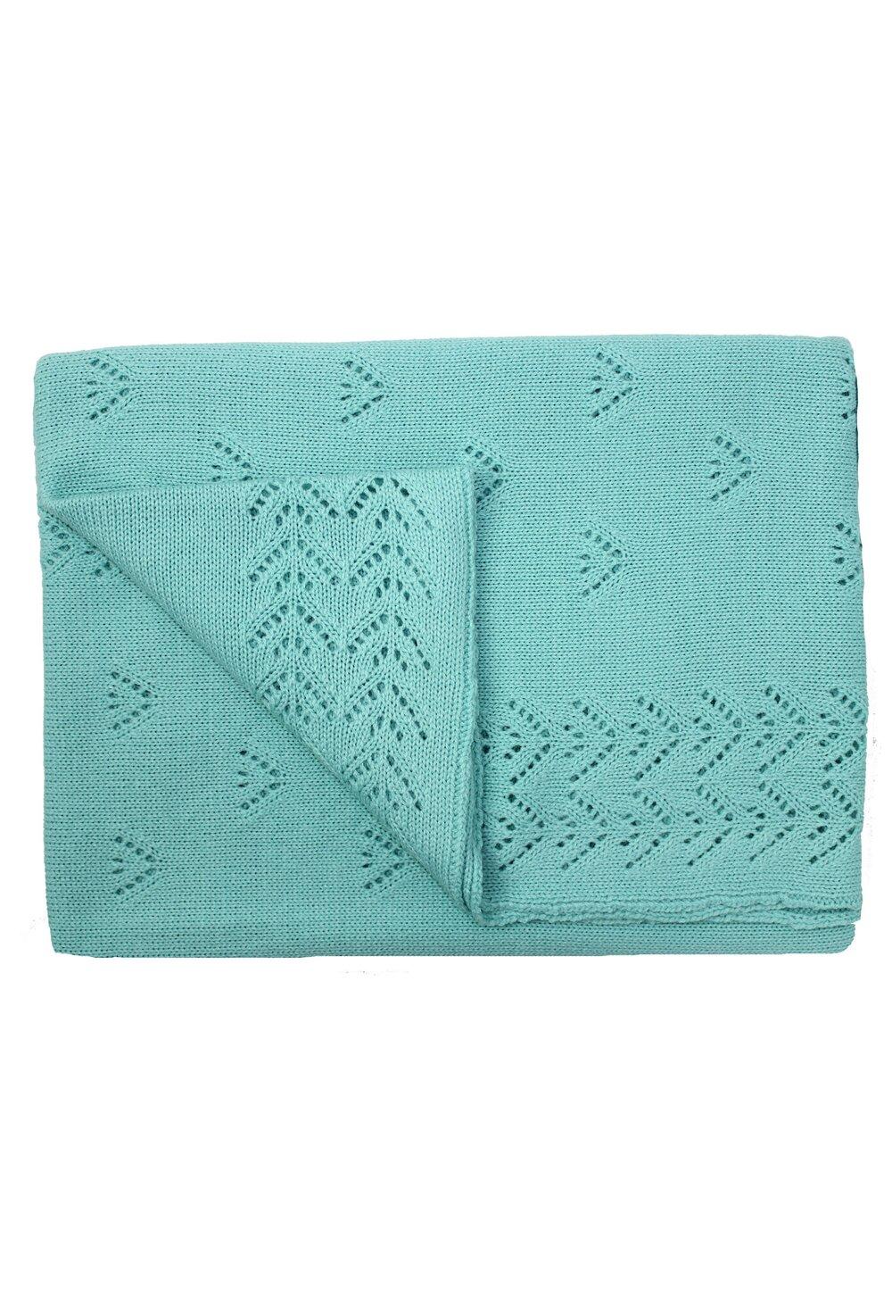 Paturica tricotata, Ana, verde, 90x90cm imagine