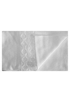 Paturica tricotata, Eva, alba, 90x90cm