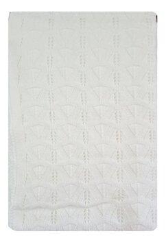 Paturica tricotata, Lola, alba, 90x90cm