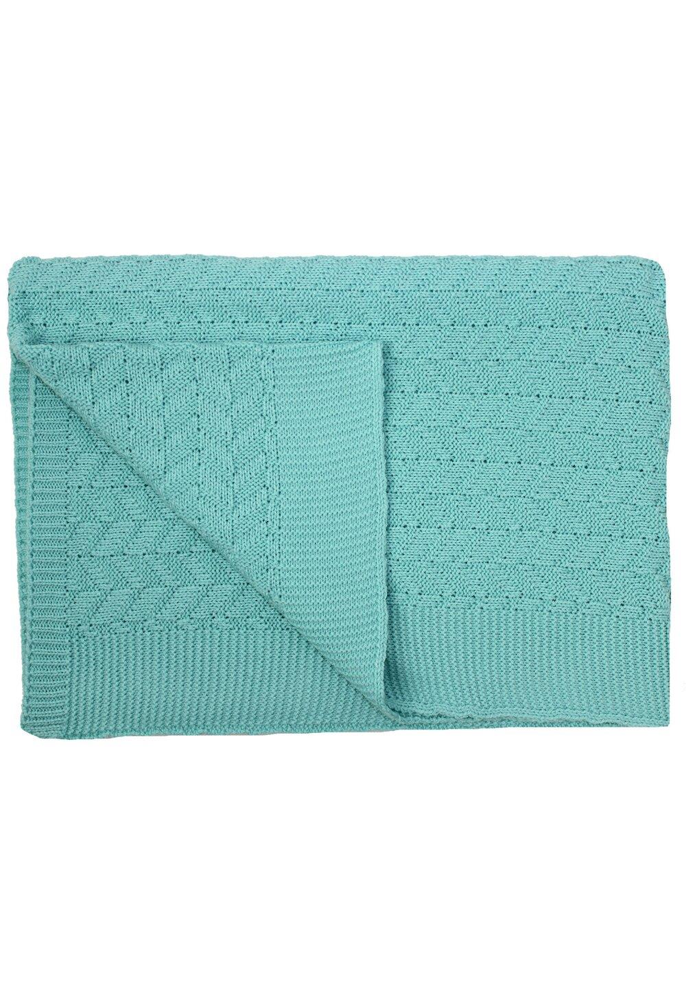 Paturica tricotata, Vivi, verde, 90x90cm imagine