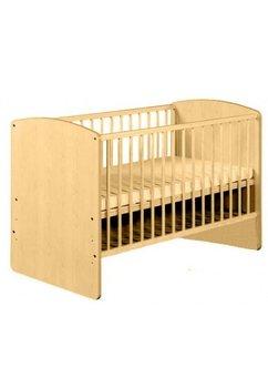 Patut bebe, lemn, Karolina II pin, 120x60 cm