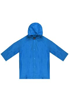 Pelerina de ploaie, albastra
