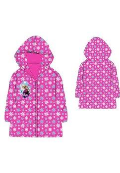 Pelerina de ploaie, Anna si Elsa, roz cu fulgi de zapada