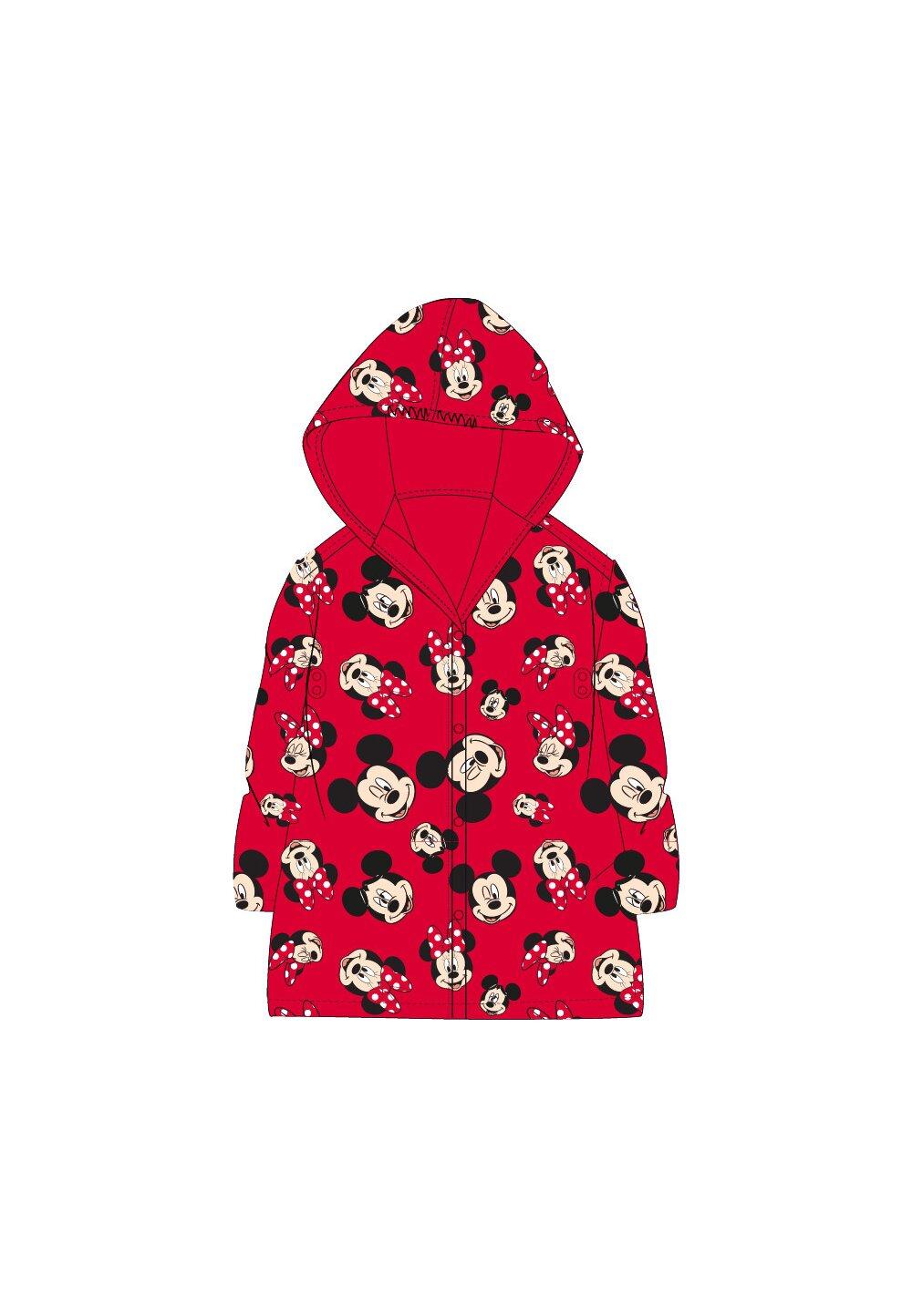 Pelerina de ploaie, Mickey si Minnie, rosie