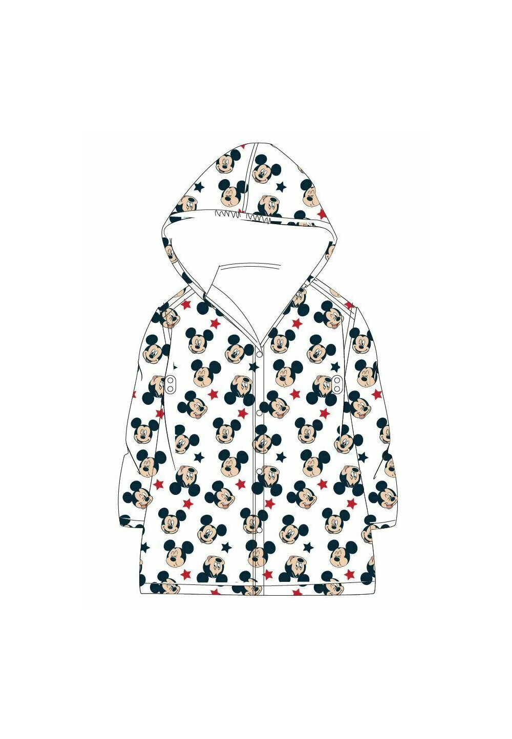 Pelerina de ploaie, Mickey Mouse, transparenta imagine