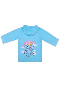 Pelerina de ploaie, Pony, turcoaz