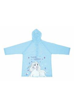 Pelerina de ploaie, PVC, cu imprimeu, Think Magic, albastra