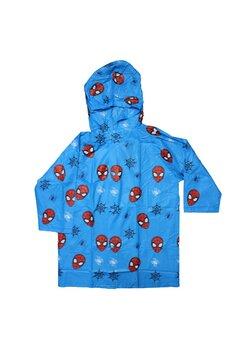 Pelerina de ploaie, Spider man, albastru cu rosu