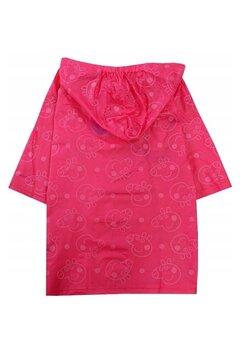 Pelerina ploaie, PVC, Peppa Pig, cu capse, roz