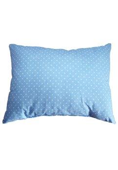 Perna, albastra cu bulinute albe, 30x40cm