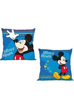 Perna, albastra, Mickey Mouse, 40x40cm