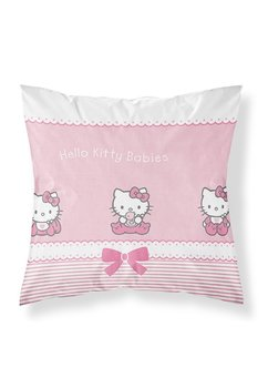 Perna, Hello Kitty babies, roz, 40x40cm