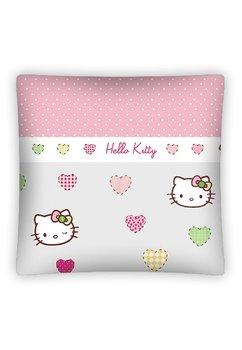 Perna, Hello kitty, inimioare si buline, 40x40 cm