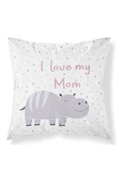 Perna, I Iove my mom, roz, 40x40 cm