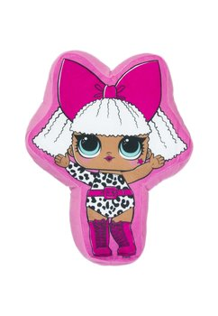 Perna Lol, fetita cu fundita roz, 35x27cm