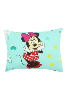 Perna, Minnie si Mickey, turcoaz cu stelute, 30 x 40 cm