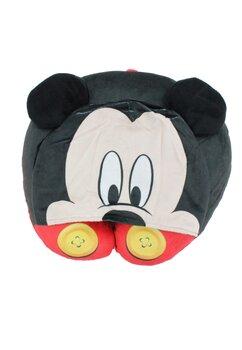 Perna pentru gat din poliester, Mickey Mouse, neagra