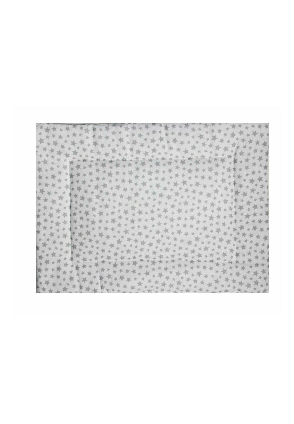Perna slim, alb cu stele gri, 37x28cm imagine