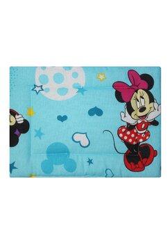 Perna slim, Minnie si Mickey, albastra cu stelute 37 x 28 cm