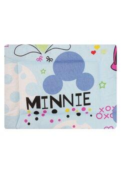 Perna slim, Minnie si Mickey, albastru, 37x28cm
