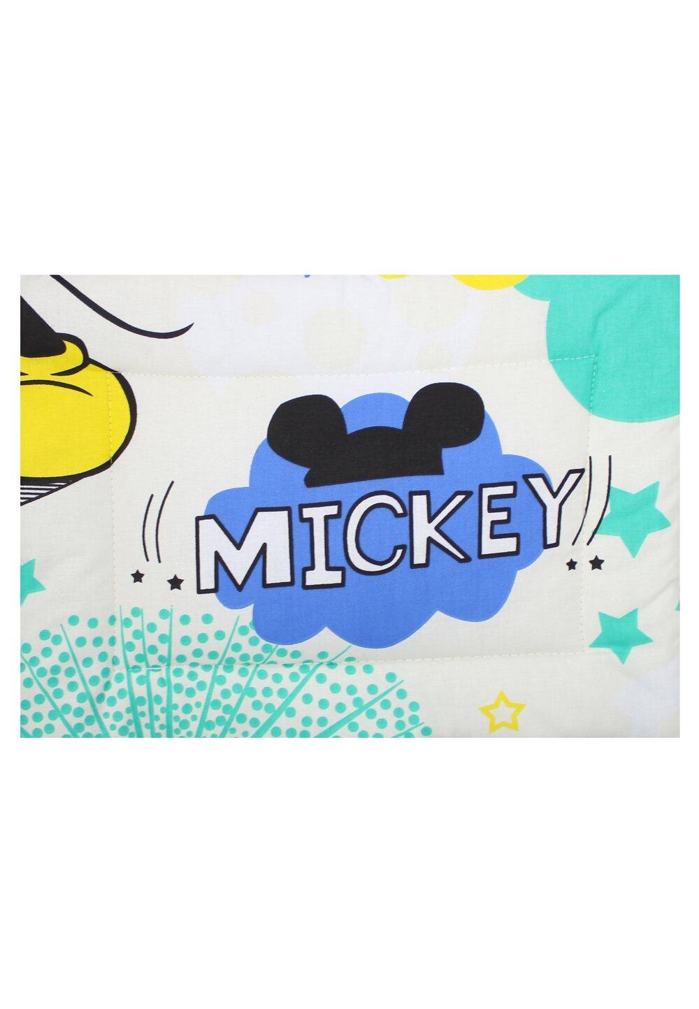 Perna slim, Minnie si Mickey, crem, 37x28cm imagine