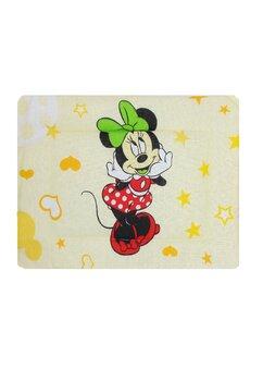 Perna slim, Minnie si Mickey, galbena 37 x 28 cm