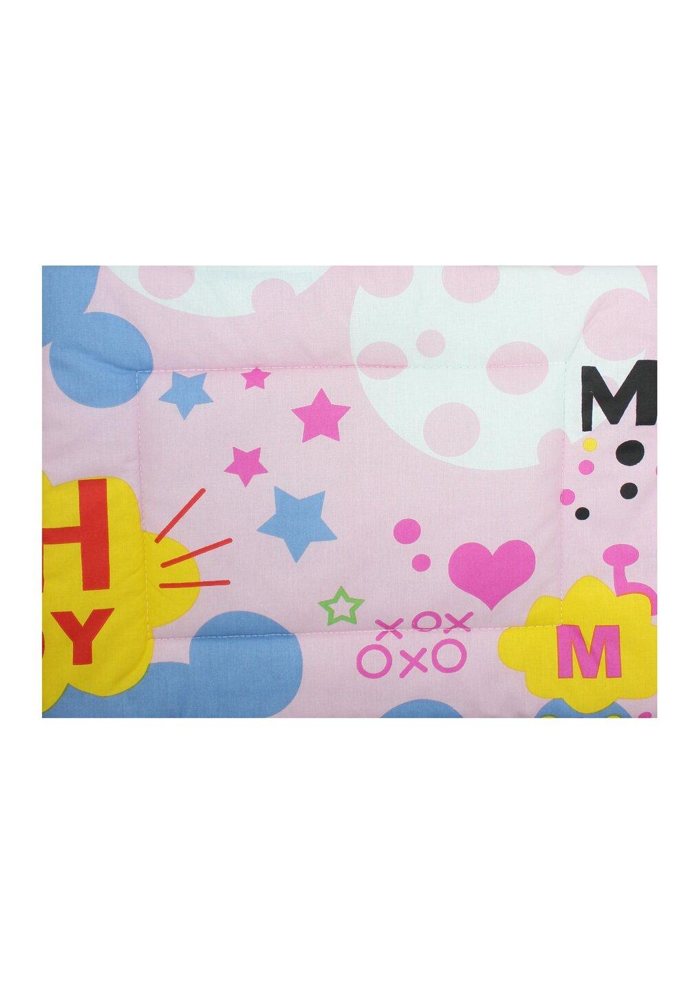 Perna slim, Minnie si Mickey, roz, 37x28cm imagine
