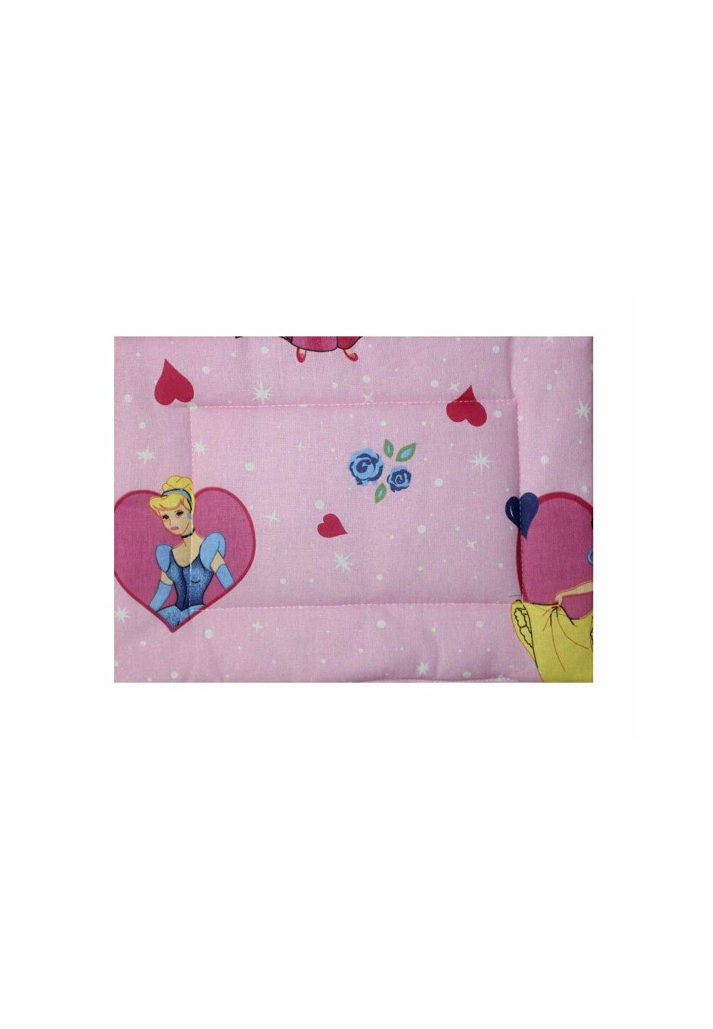 Perna slim, printese, roz, 37x28cm imagine