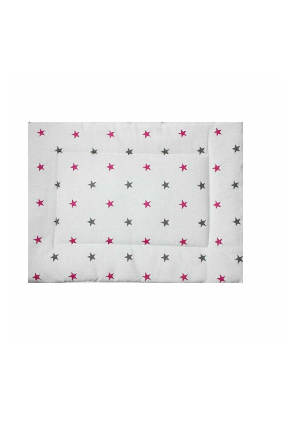 Perna slim, stelute roz cu gri, 37x28cm imagine