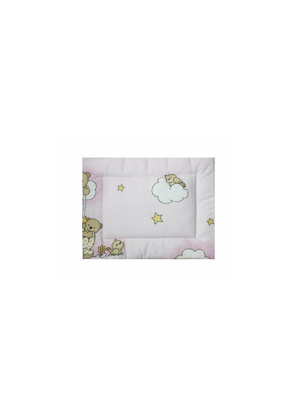 Perna slim, Ursuletul somnoros,roz, 37x28cm imagine
