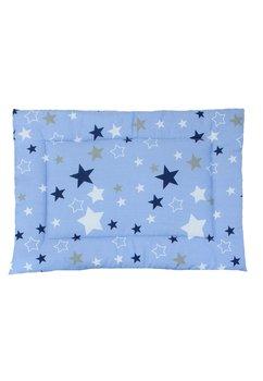 Perna slim, albastra cu stelute, 37x28cm