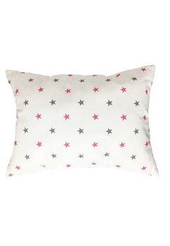 Perna, stelute, roz cu gri, 30x40cm