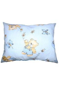 Perna, ursulet cu albinute, albastru, 30x40cm