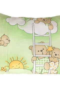 Perna, ursulet somnoros, verde, 30x40cm