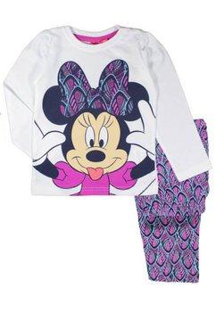 Pijama alb cu mov, Minnie Mouse