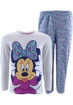 Pijama alb cu turcoaz, Minnie Mouse