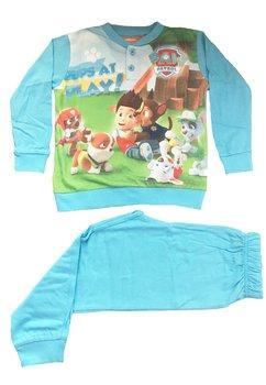 Pijama albastru deschis, Pups at play