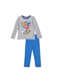 Pijama baieti, Super wings, gri