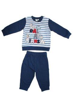 Pijama bebe, Dalmatieni, bluemarin