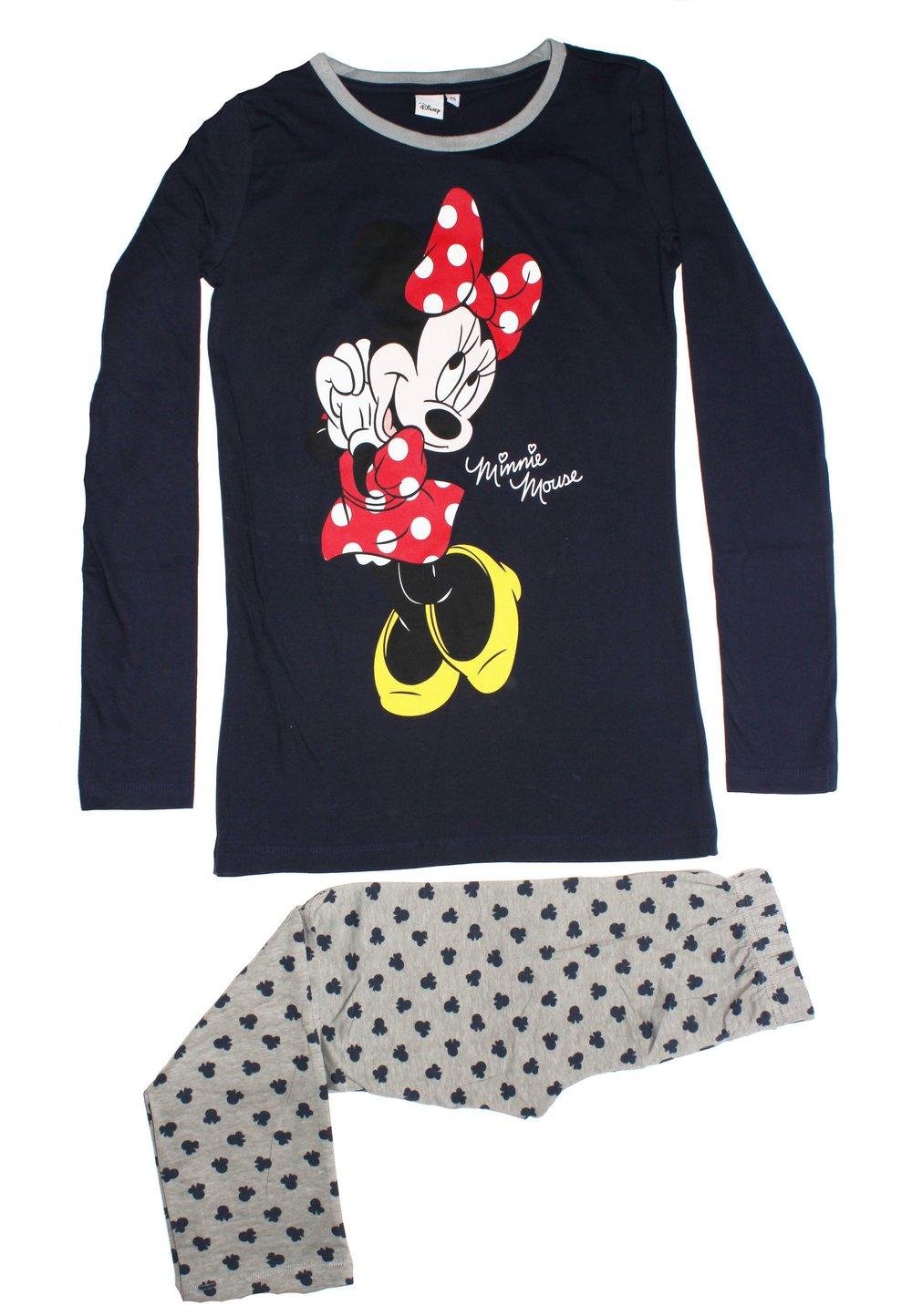 Pijama bluemarin, pantalon 3/4, Minnie Mouse imagine