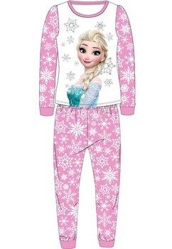 Pijama Elsa, roz cu fulgi de zapada