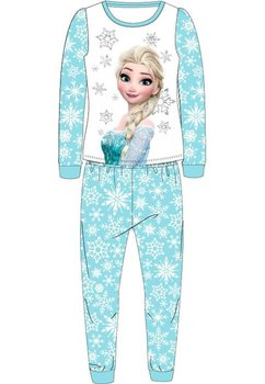 Pijama Elsa, turcoaz cu fulgi de zapada