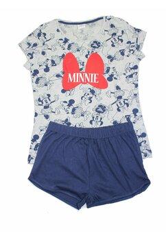 Pijama femei, maneca scurta, Minnie, bluemarin