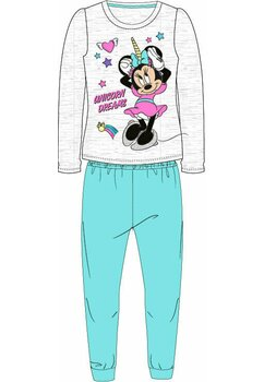 Pijama fete, Minnie Unicorn Dreams, turcoaz cu gri