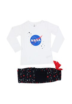 Pijama fete, Nasa alba cu stelute