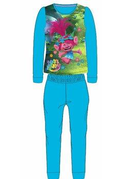 Pijama fete, Trolls 100% happy, turcoaz